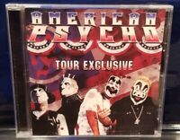 Insane Clown Posse & Twiztid - American Psychos Tour CD dark lotus horrorcore