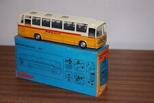 TEKNO 1/50TH SCALE MERCEDES BENZ 0302 COACH SWISS PTT LIVERY