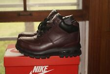 Mens Nike Air Max Goadome Boots Deep Burgundy Black 8.5