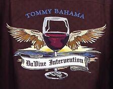 Tommy Bahama Mens Davine Intervention Hawaiian Vino Camp Shirt XXXL 3xl