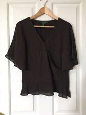Career Short Sleeve 100% Silk Tops & Blouses for Women