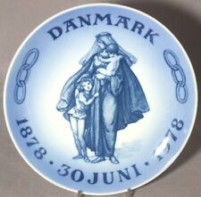 Royal Copenhagen Plate 100th Anniversary Odd Fellows Lodge in Denmark Ioof