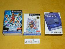 PHANTASY STAR ONLINE EPISODE I II 1 2 + MODULO NINTENDO GAMECUBE  COMPLETO  NTSC