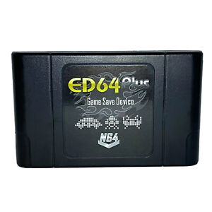 ED64 Plus Everdrive Device For N64 Console US, PAL & Japan N64 (+16gb SD Card)