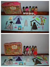 Dawn Doll Lot: Dawn, Angie, Melanie, Van, Denise, Outfits and Doll Case