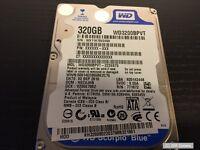 Acer TravelMate 5740 Ersatzteil: 320GB Festplatte WD3200BPVT WD3200BPVT-22ZEST0