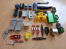 33 Teile Siku Ersatzteile  /Anhänger /Mähdrescher/ usw / gebraucht siehe Fotos