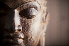 STUNNING ABSTRACT BUDDHA STATUE #787 CANVAS PICTURE WALL ART A1