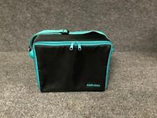 Case Logic Portable Black with Green Trim Nylon 30 CD Carry Case Storage Holder