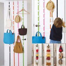 NEW Over Door Hanging Lanyard Hanger Hat Handbag Coat Storage Organizer Hooks