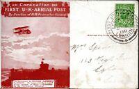 1911 First UK Aerial Post - London to Windsor Aerial Cancel 9 September 1911
