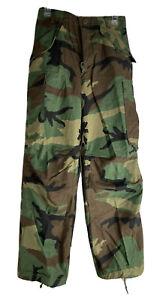 USGI Vintage M65 Field Pants Woodland Camouflage - 8415-01-099-7853 XS REGULAR