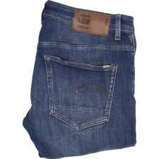 G-Star 3301 Men Blue Skinny Slim Stretch Jeans W33 L30 (47829)