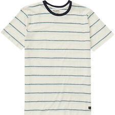 Billabong Die Cut Stripe Crew Tee Shirt - Men's - Small, Salt