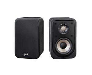 Polk Audio Signature S10e Regal-Surround Lautsprecher schwarz (1 Paar) NEUWARE