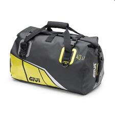 Givi EA115BY 40ltr Waterproof Motorcycle Roll Bag, tail bag, holdall. Grey /Yell