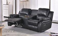 Voll-Leder Relaxsofa TV-Sofa Relaxsessel Fernsehsessel 5129-3+2+1-S