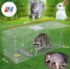 Giantz 80x28x33 Extra Large Humane Animal Trap Cage - TRAPCAGE