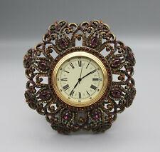 Jay Strongwater Jeweled Analog Clock