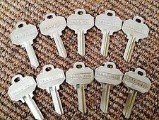 (10) BALDWIN Original  Key Blanks NEW 5-pin UNCUT also fits SCHLAGE EMTEK MARVIN