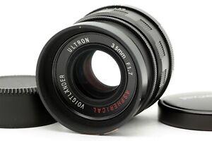 【Near MINT】 Voigtlander Ultron 35mm f/1.7 Aspherical Lens for L39 LTM From JAPAN
