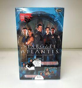 Stargate Atlantis Season One - Sealed Trading Card Hobby Box - Season 1, 2005