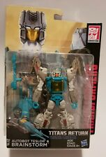 Transformers Generations Titans Return Autobot Teslor and Brainstorm