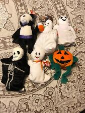 Ty Halloween Plush Beanie Babies 6 Available Prc 1 Ea Sheets Pumpkin Count Spook