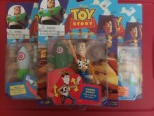 Disney Toy Story Think Way Figures Woody and Buzz Lightyear (3) Fighter Boxer
