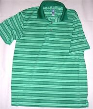 Airflux Green Striped PGA Tour Golf Shirt Official Licensed Apparel. Sz M. GREAT