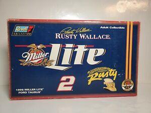 Revell Rusty Wallace #2 Miller Lite Adventures of Rusty 1998 Taurus 1:18 NIB