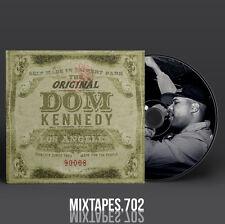 Dom Kennedy - Original Dom Mixtape (Full Artwork CD Art/Front Cover/Back Cover)