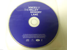 fron mâle Voice Chorale - Voices of the Valley (Memory Lane, 2009) disque