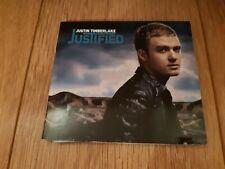 "JUSTIN TIMBERLAKE "" JUSTIFIED "" CD DIGIPAK ALBUM 2002 EXCELLENT"