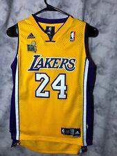 Kobe Bryant Los Angeles Lakers Adidas Swingman Jersey Youth Medium 2009 RARE