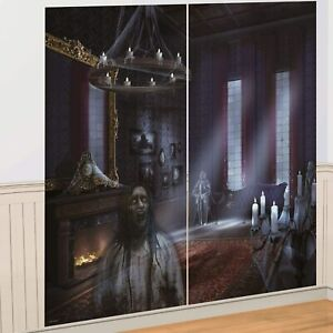 Dark Manor Haunted House Carnival Halloween Party Decoration Scene Setters