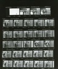 DON JOHNSON JOE BENNETT THE TWO FIVE PILOT RARE ORIGINAL 1978 ABC TV PROOFSHEET
