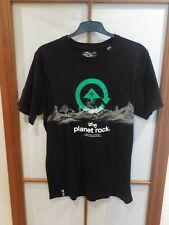 LRG Lifted Research Group vintage t-shirt Planet Rock Mountains skater negro XL