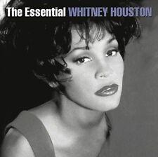 WHITNEY HOUSTON (ESSENTIAL - GREATEST HITS 2CD SET SEALED + FREE POST)
