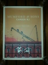 MUMFORD & SONS 2017 CAMDEN NJ Show Poster Tour Print May 25 PHILADELPHIA Philly