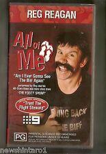 #JJ4,    RUGBY  LEAGUE  VHS VIDEO TAPE - REG  REAGAN, MATTHEW  JOHNS