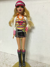 Barbie My Scene Kennedy Doll Blonde Yellow Hair Karaoke Divas OOAK Play Rare