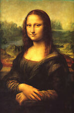 "The Mona Lisa by Leonardo da Vinci MUSEUM GRADE- 17"" x 22"" Fine Art Print -00244"