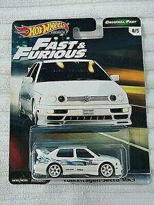 Hot Wheels Volkswagen Jetta MK3, Real Riders, Fast and Furious original VW GTi