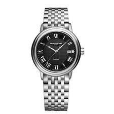 Raymond Weil 2837-ST-00208 Men's Maestro Black Automatic Watch
