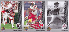 2014 Upper Deck Johnny Rogers /250 25th Anniversary SILVER Parallel