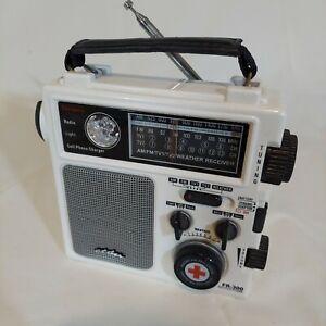 Hand-Crank ETON FR300 AM/FM/TV-VHF Radio NOAA Weather Emergency