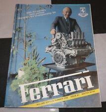FERRARI OWNERS CLUB MAGAZINE WINTER 1983 1984 # 61 JOHN SURTEES FERRARI 158 V8