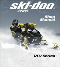 2005 Ski-Doo REV Series ( GSX, GTX, MX Z, Summit ) Snowmobiles Service Manual CD
