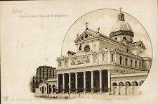ROMA - Facciata Chiesa S. Gioacchino ( area in costruzione) - Rif. 312 PI